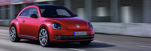 Nouvelle Volkswagen Beetle: 1ères photos