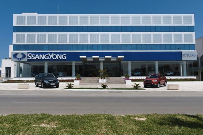 SOTUDIS inaugure son showroom SsangYong