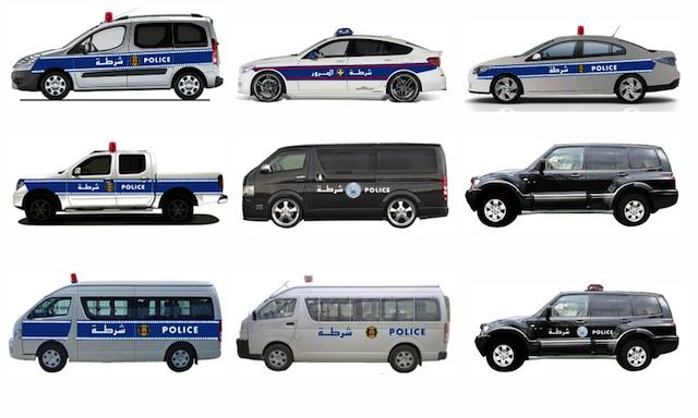 Voitures de police: Nouveaux véhicules et nouvel habillage