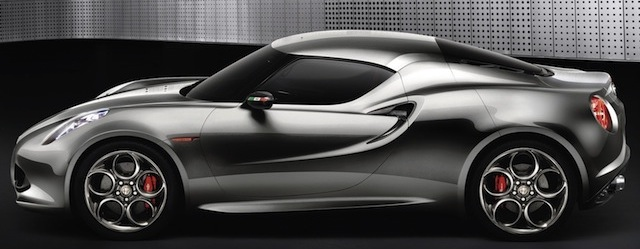 Alfa Romeo 4C: un concentré d'Alfa