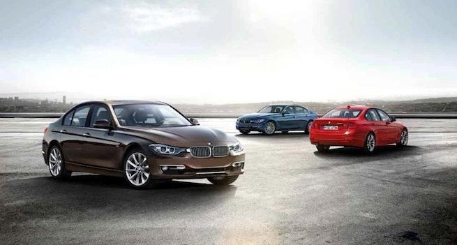 Nouvelle BMW Série 3 2012