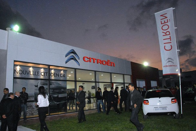 Nouveau Showroom Citroën à Mahdia