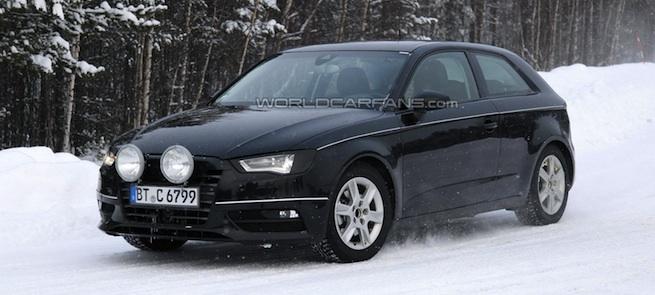 L'Audi A3 2012 en clair !