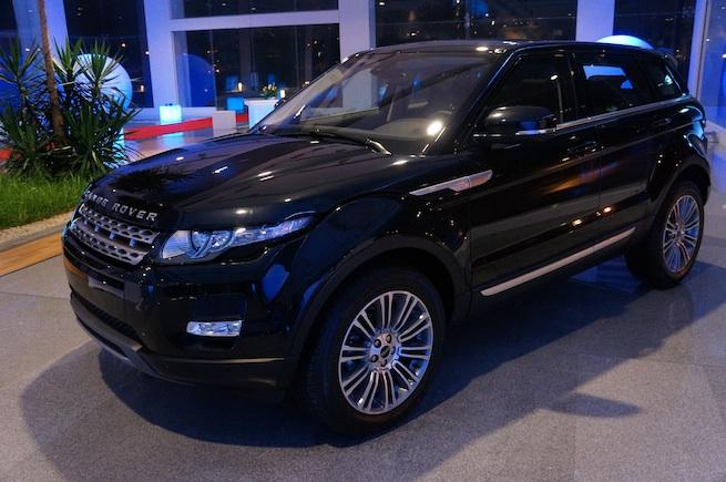 Lancement du Range Rover Evoque en Tunisie