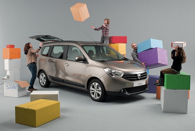 Dacia Lodgy 2012