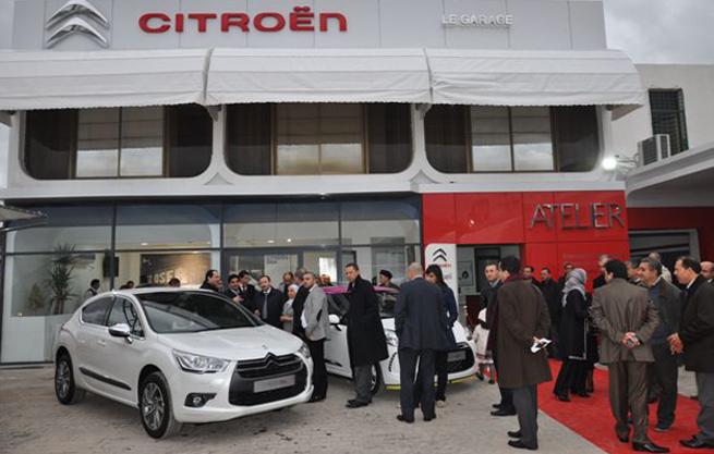 Et une agence  de plus dans  le réseau Citroën Tunisie !