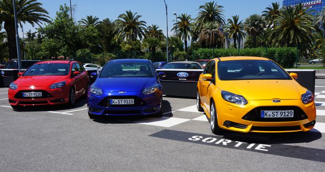 Essai Ford Focus ST à Nice