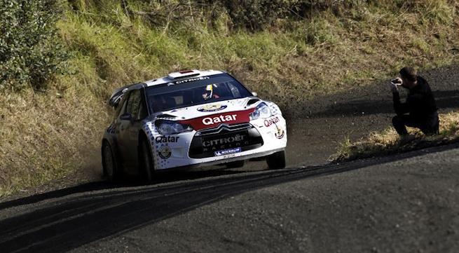 Championnat WRC - Hirvonen emmène les Citroën