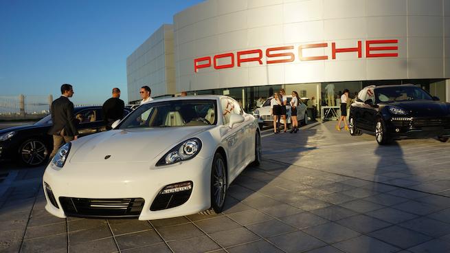 Ennakl inaugure son nouveau Showroom Porsche