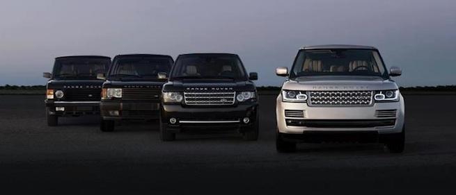 Nouveau Ranger Rover 2013