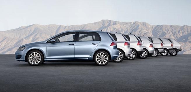 Nouvelle Volkswagen Golf, évolution plutôt que révolution
