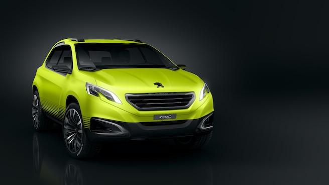 Peugeot 2008 Concept, le petit Crossover