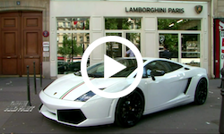 Visite Lamborghini Paris - Essai Gallardo LP560 Spyder - Drive and Fast Tunisie