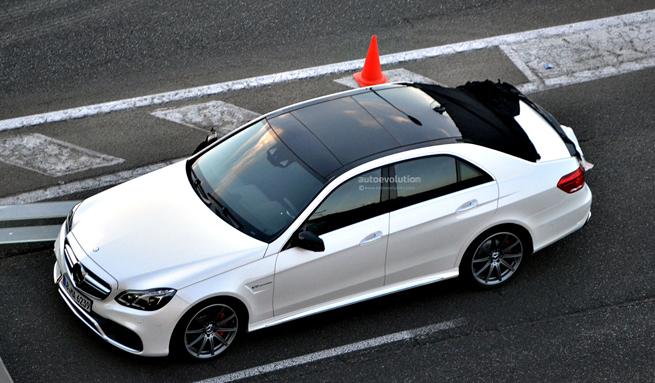 La nouvelle Mercedes-Benz Classe E surprise sans camouflage