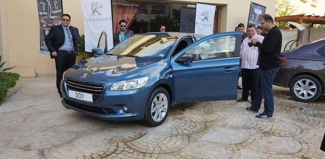 La Peugeot 301 s'arrête à Sousse !