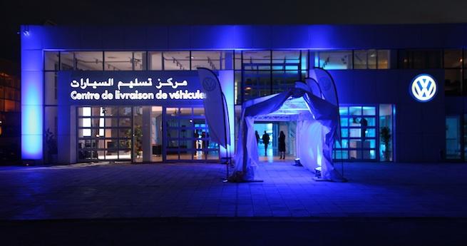 Ennakl inaugure son centre de livraison VW
