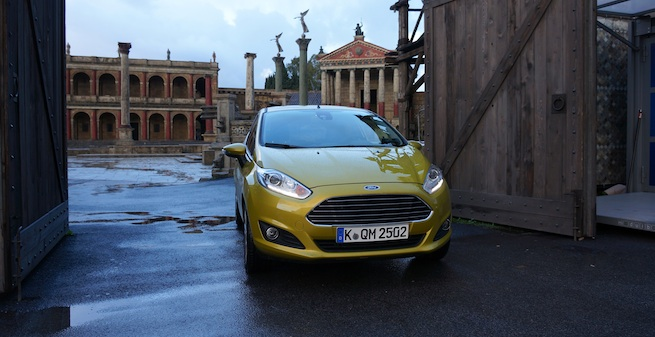 Essai de la Ford Fiesta restylée à Rome