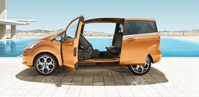 Nouvelle Ford B-Max