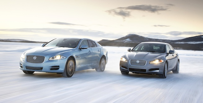 Les Jaguar XJ et XF 2013 disponibles chez Alpha International