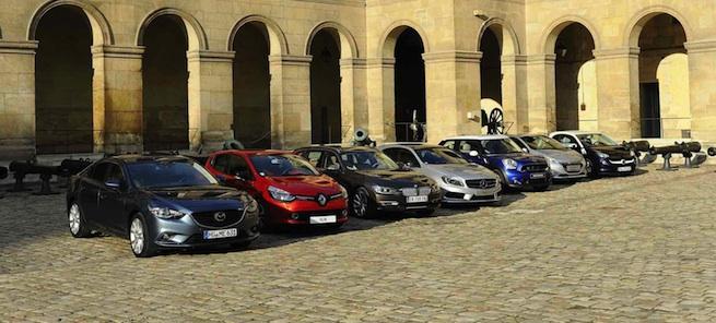 La Classe A élue plus belle voiture de l'année 2012