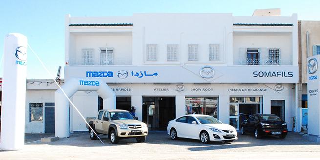 Ouverture d'une nouvelle agence « Mazda »  à Djerba