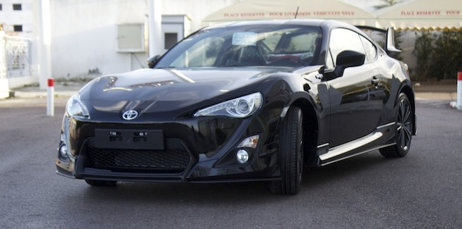actu la toyota gt86 disponible chez bsb. Black Bedroom Furniture Sets. Home Design Ideas