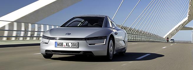 Volkswagen XL1, la voiture la plus économique au monde