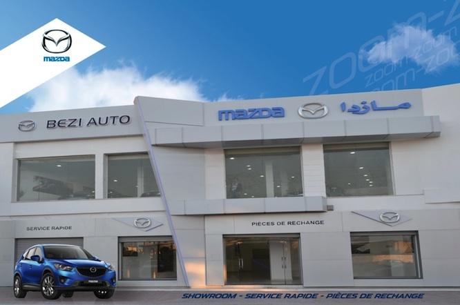 Ouverture d'une nouvelle agence « Mazda »  à Ksar Hellal