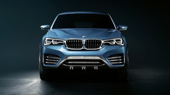 Nouveau BMW X4 Concept