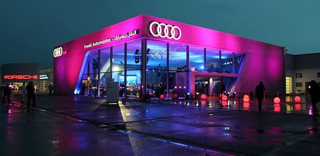 Audi Tunisie inaugure son premier terminal Audi