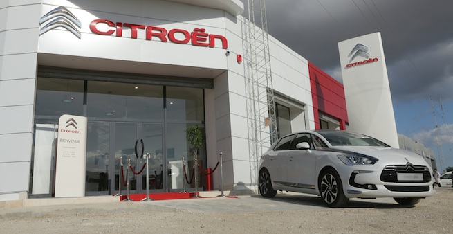 Nouvelle Succursale Citroën à Nabeul
