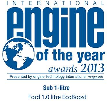 Le moteur Ford 1,0 litre EcoBoost élu « Moteur de l'Année » pour la deuxième année consécutive