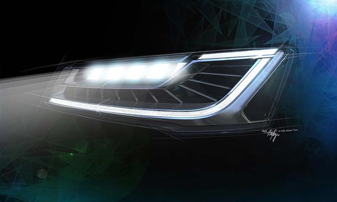 Nouveau système Audi Matrix LED