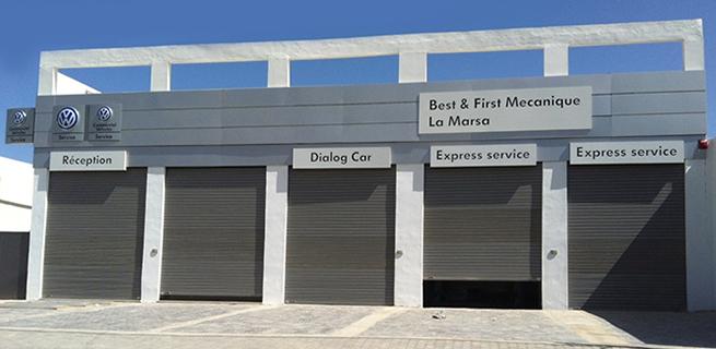 Un nouvel atelier agréé Volkswagen à La Marsa