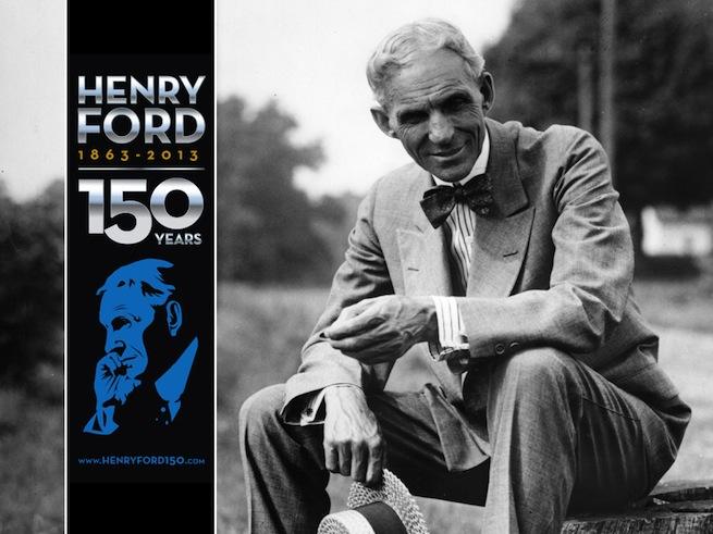 Ford célèbre le 150e anniversaire de son fondateur Henry Ford