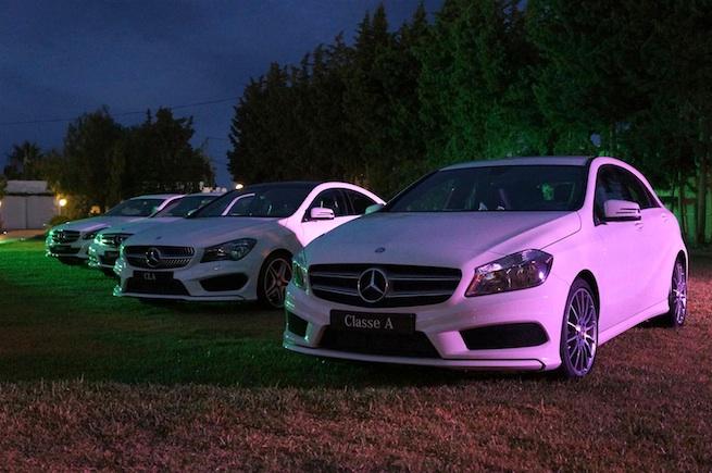 Le Moteur expose sa gamme Mercedes à La Closerie