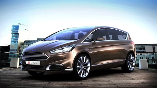 Ford S-MAX Concept: Style et technologie