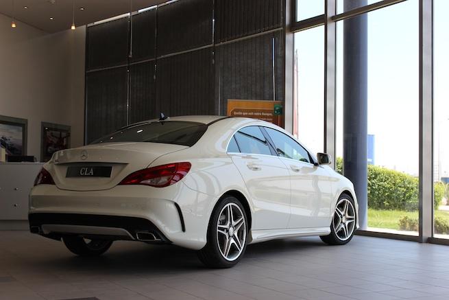 La Mercedes-Benz CLA arrive chez le Moteur