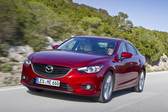 La Mazda6 décroche les 5 étoiles aux tests Euro NCAP