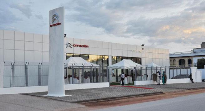 Citroën Tunisie inaugure son 14ème point de vente à Bhar Lazreg