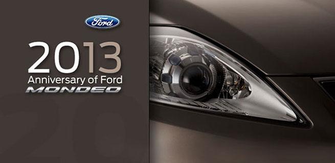 Ford célèbre le vingtième anniversaire de la Mondeo