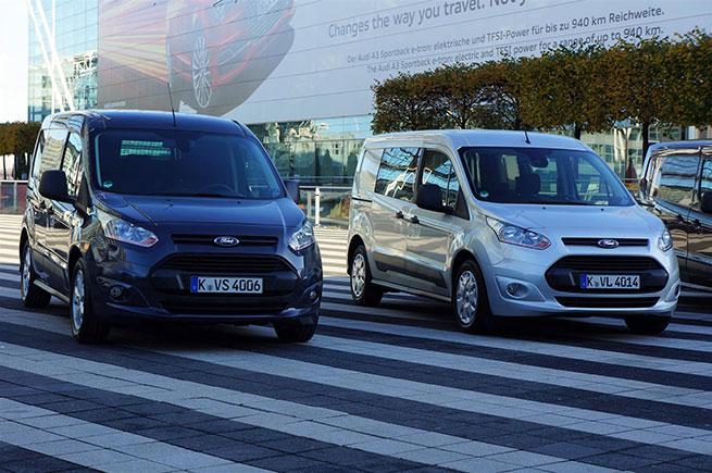 Essai de l'utilitaire Ford Transit Connect