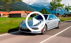 Essai Porsche Panamera S E-Hybrid dans 100% auto