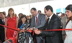 Inauguration d'une usine Mahindra à Sousse