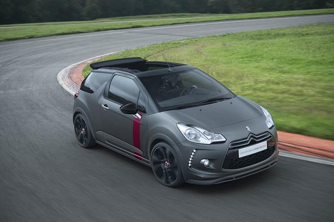 Citroën lance une Edition limitée de la Citroën DS3 Cabrio Racing