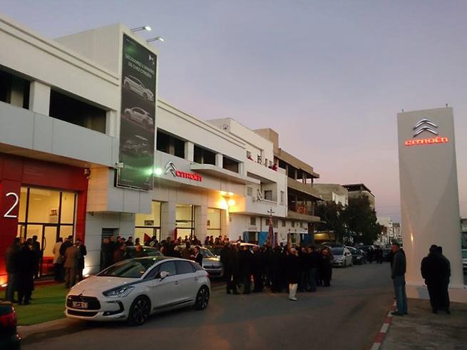 Inauguration de la nouvelle agence Citroën à Monastir