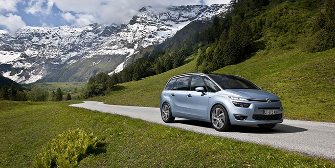 Nouveau Citroën Grand C4 Picasso :  Le Technospace Voit Grand