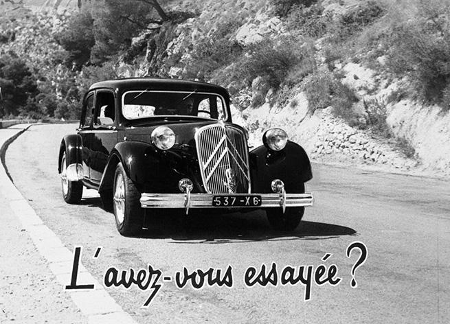 80 ans de La Citroën Traction