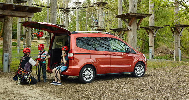 Essai Ford Tourneo Courier, un ludospace astucieux