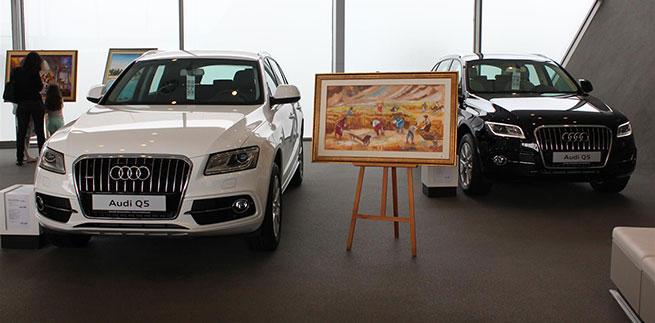 Expo Audi In Art au Terminal de La Goulette